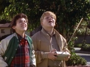 "With Fred Savage on ""The Wonder Years""."